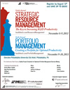 2011 Strategic Resource Management & Portfolio Management Final Agenda